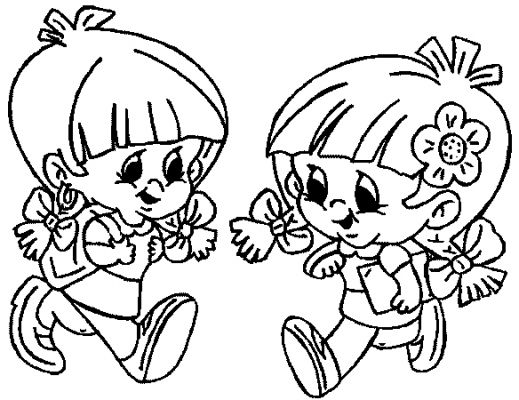 Child Coloring Pages 10