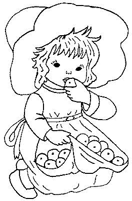 Child Coloring Pages 11