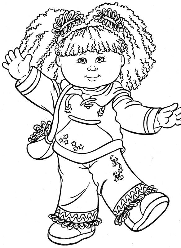 Child Coloring Pages 2