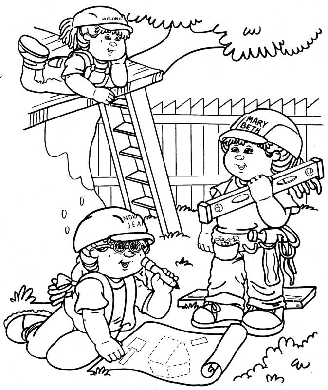 Child Coloring Pages 4