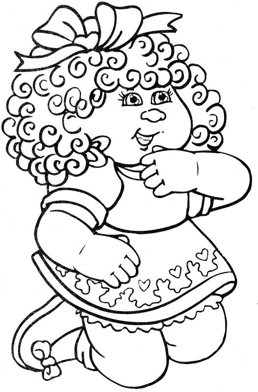 Child Coloring Pages 5