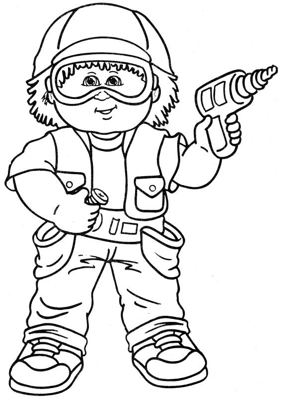 child coloring pages - Child Coloring Pages