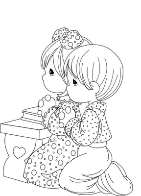 Child Coloring Pages 9
