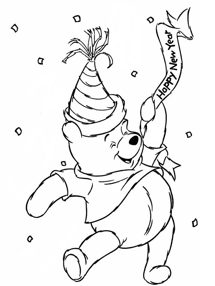 Pooh Bear Coloring Pages 5