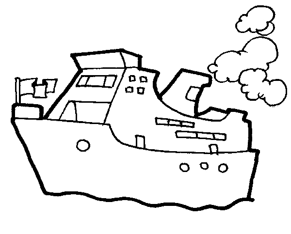 Ship Coloring Pages 8